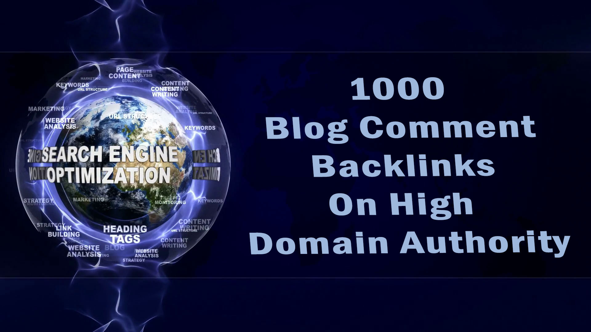 Get 1000 Blog Comment Backlinks With High Domain Authority
