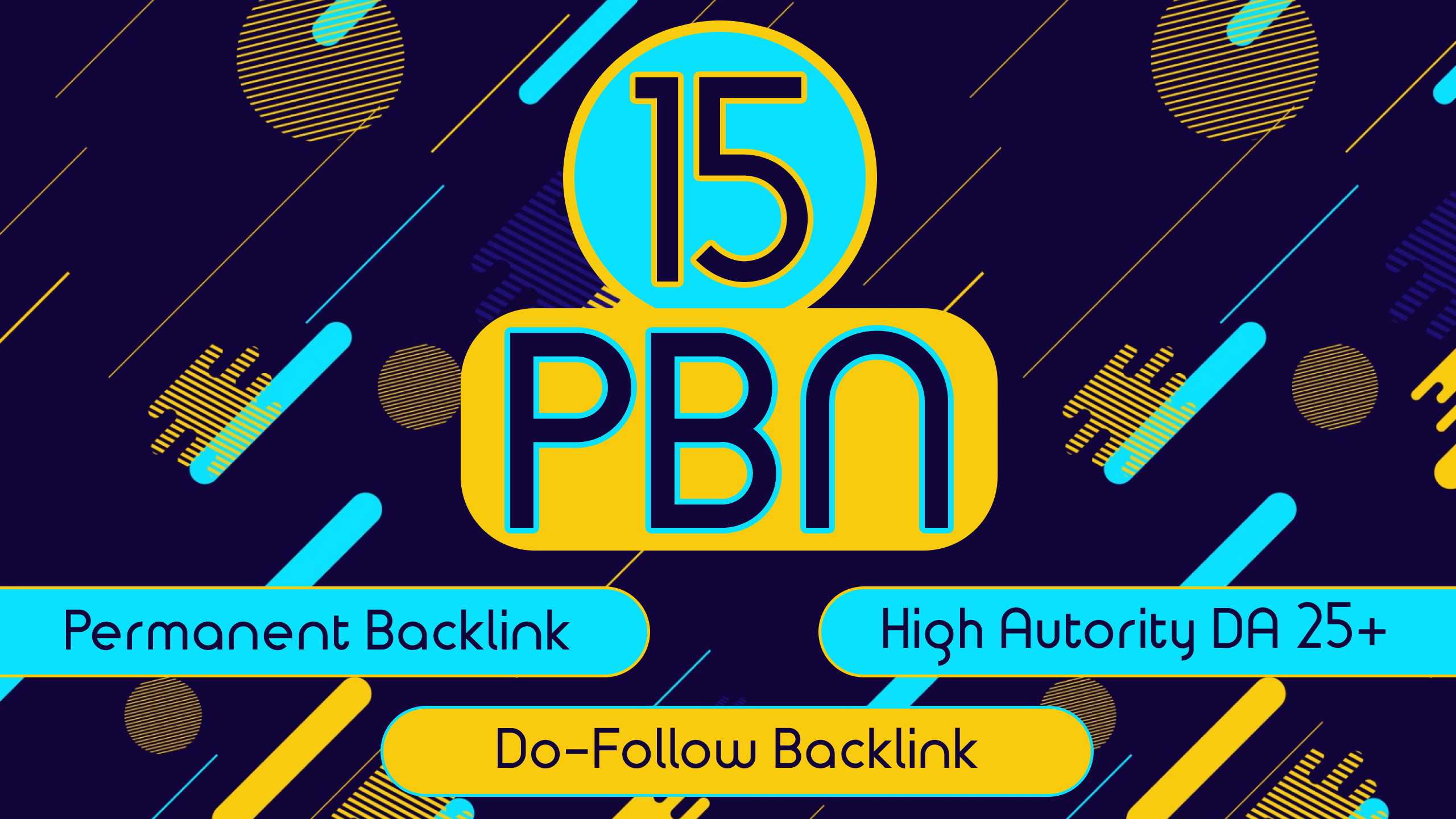 I will build 15 High Quality Permanent Dofollow PBN Backlinks on DA 25+ Authority Sites