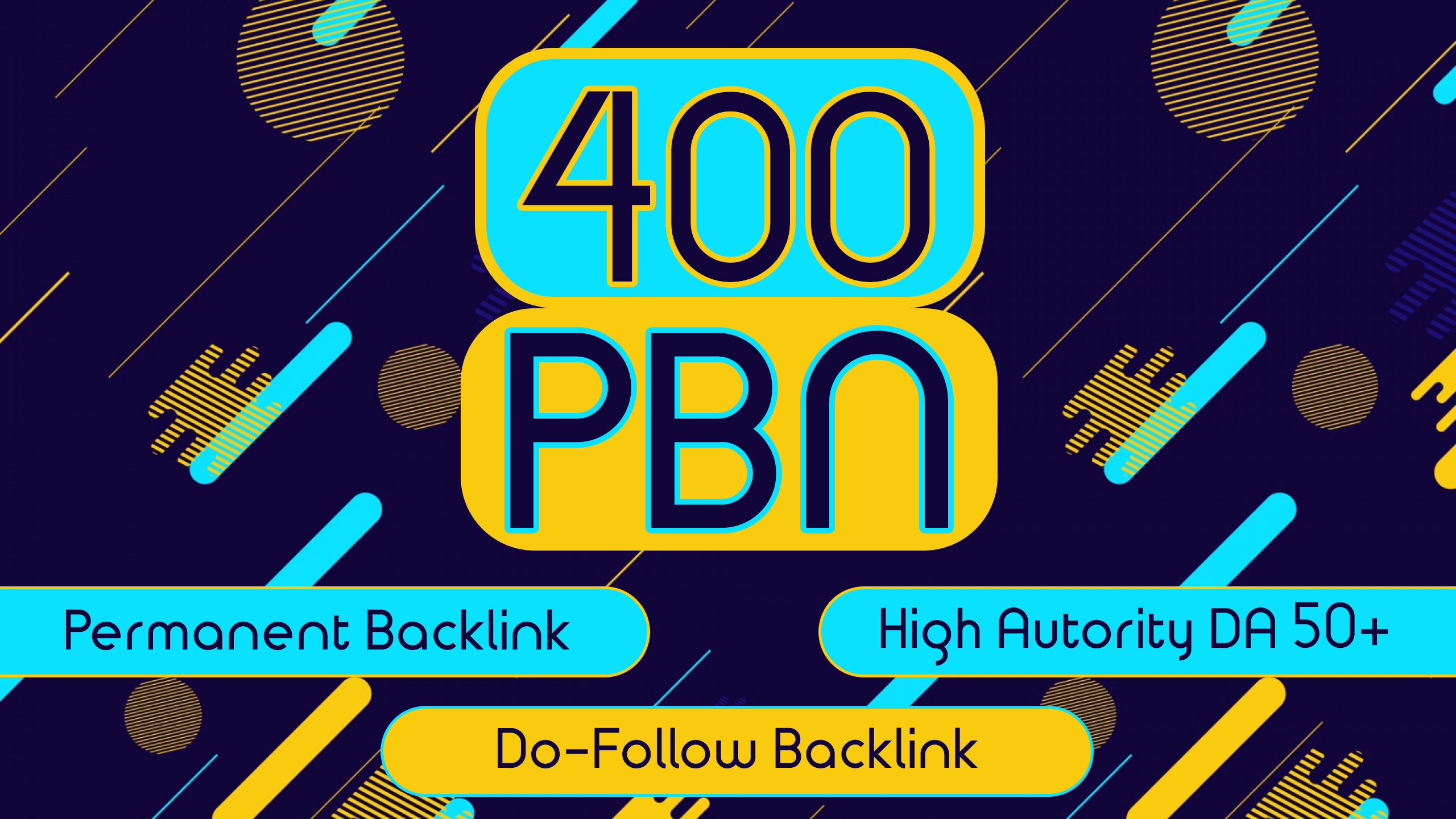 I will build 400 High Quality Permanent Dofollow PBN Backlinks on DA 50+ Authority Sites