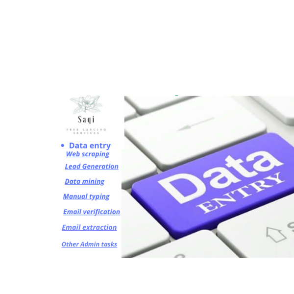 I will do fast data entry,  email extraction,  data mining,  web research