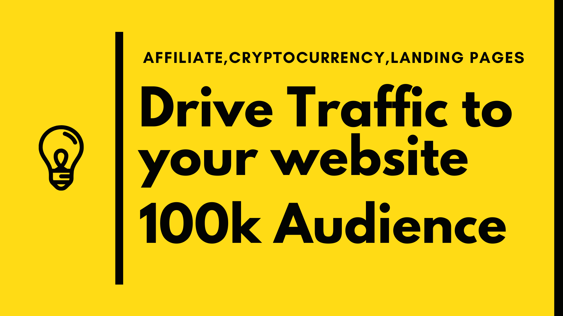 Boost your website with 100 targeted traffic