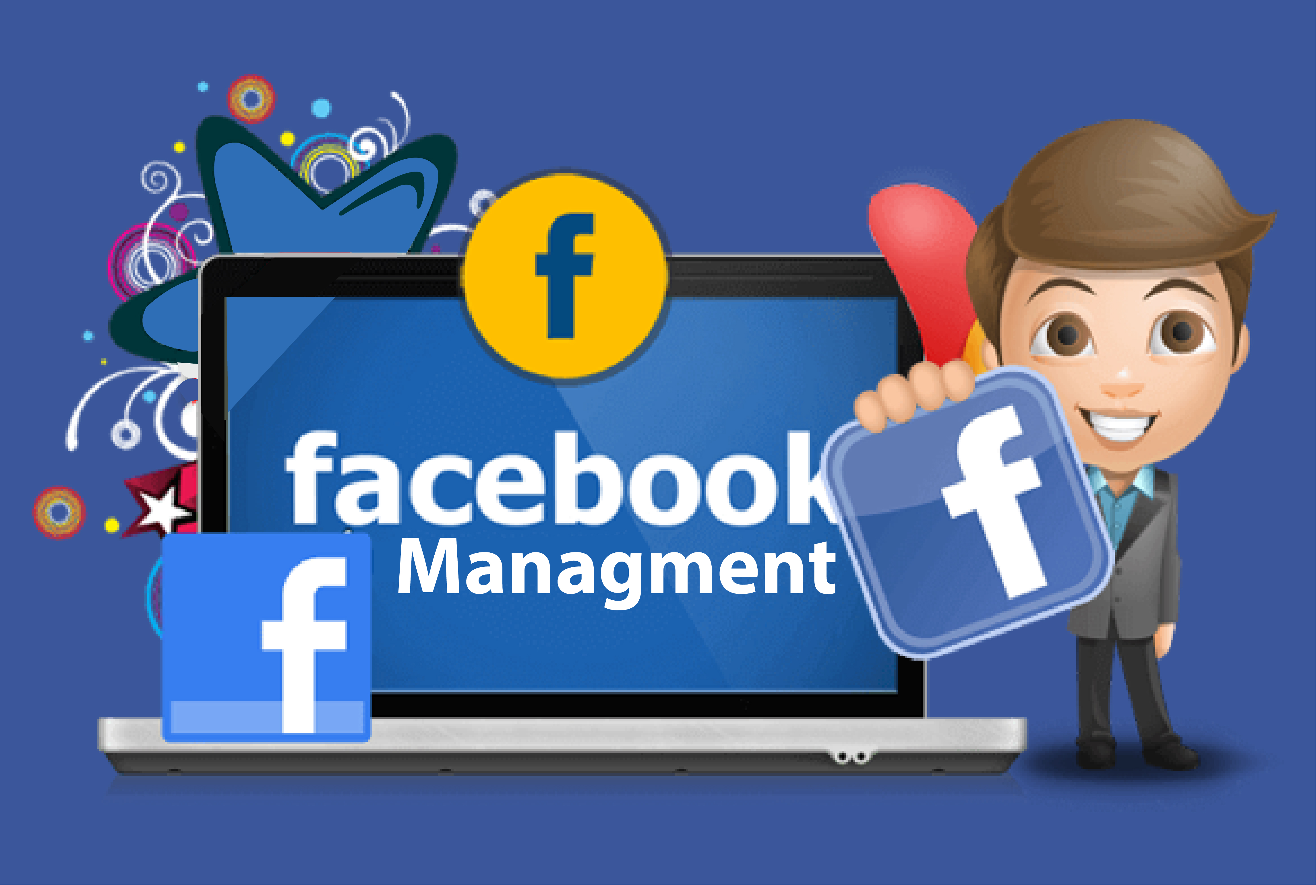 I will create and manage your Facebook business page