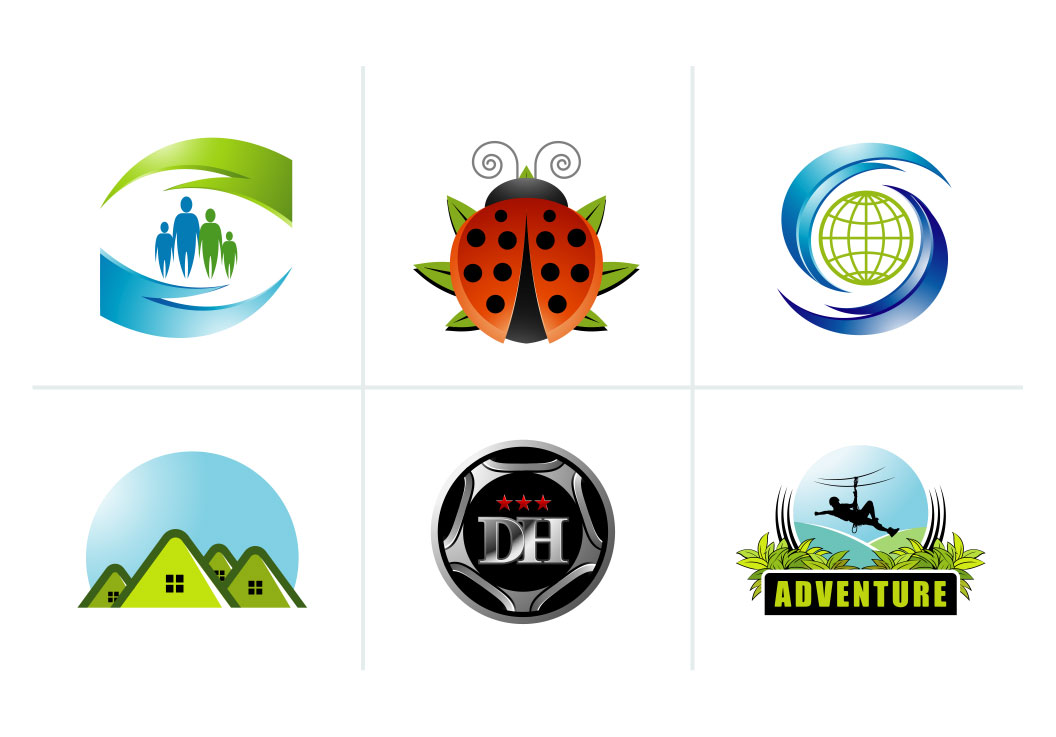 Editable vector illustrations and logos for your requirement