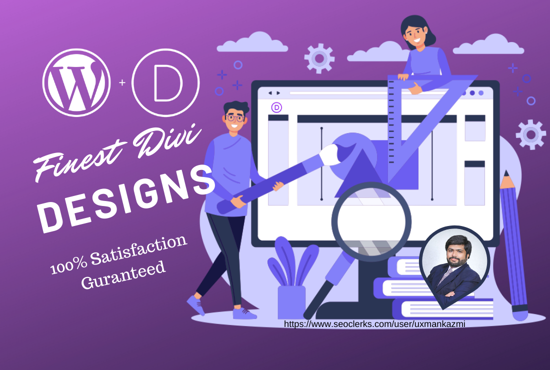 I will design and develop a WordPress Website using Divi theme which is included
