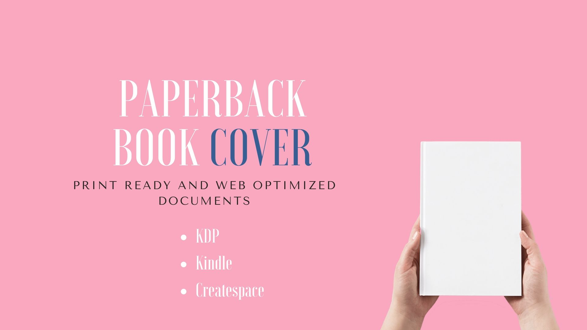 I will design an ebook KDP print book