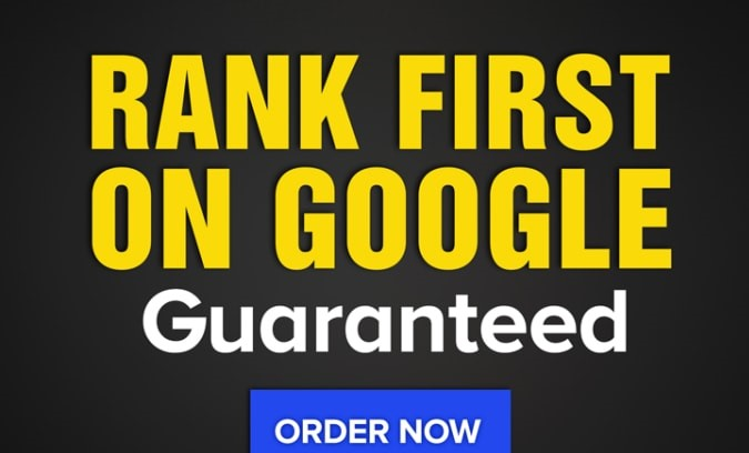 rank your website 1st page of google guaranteed