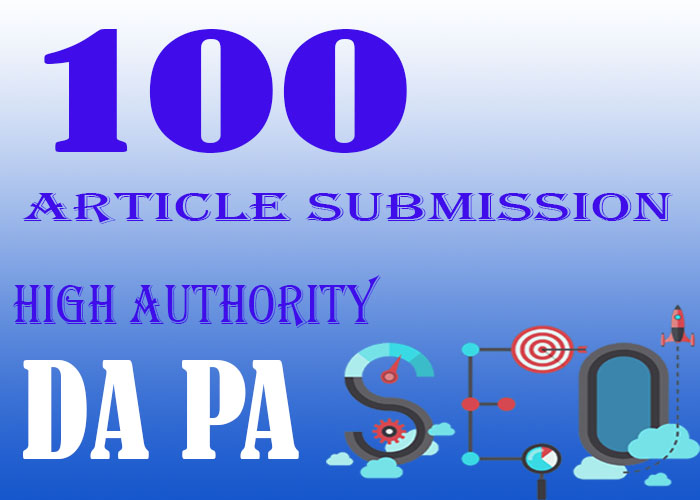 I will manually Create 100 Contextual Backlinks DA 40+to 90+