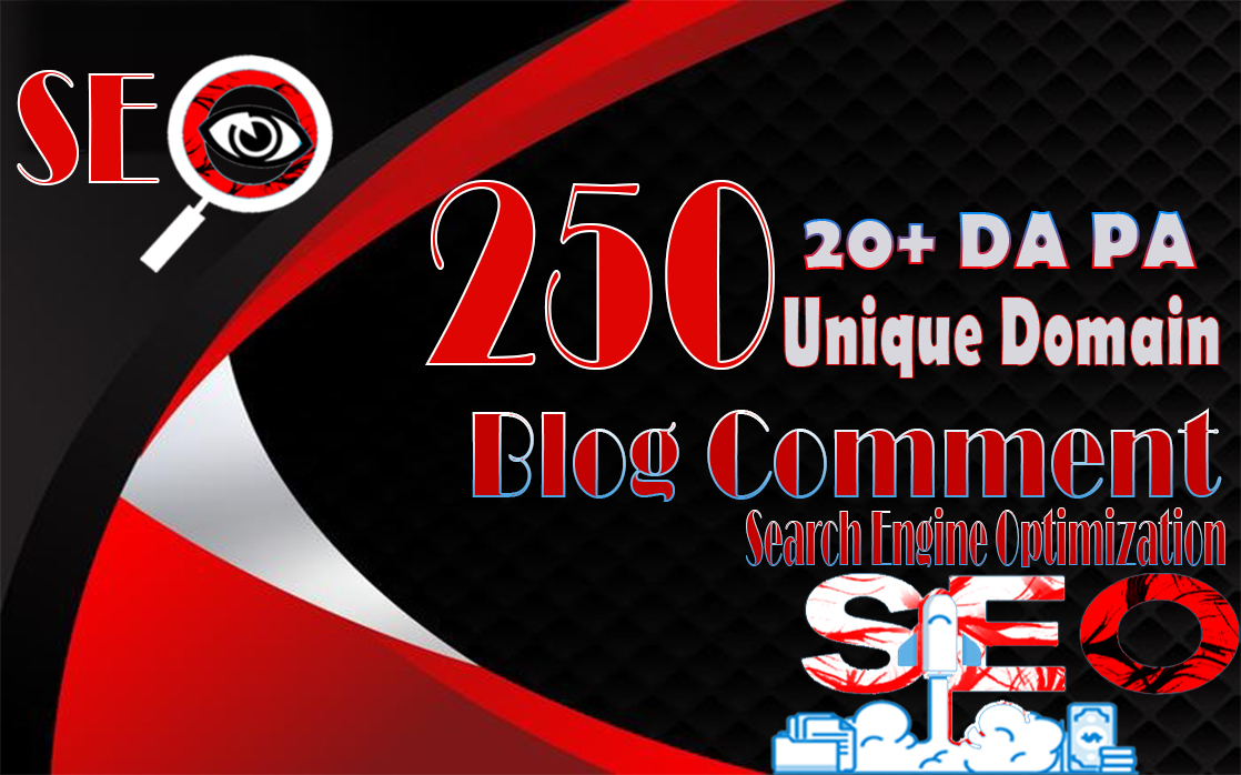 i will do 250 unique domain blog comments