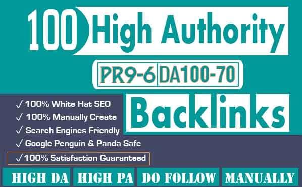 create high authority dofollow backlinks for SEO ranking