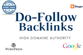 I will build high quality SEO do-follow backlinks