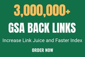 I will build 3Million high quality dofollow SEO backlinks google top ranking