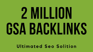 I will 2 Million high quality SEO backlinks for top rank Website
