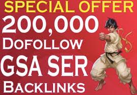 I will do off page SEO dofollow GSA backlinks
