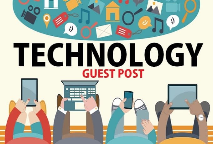 I will provide guest post on my technology website