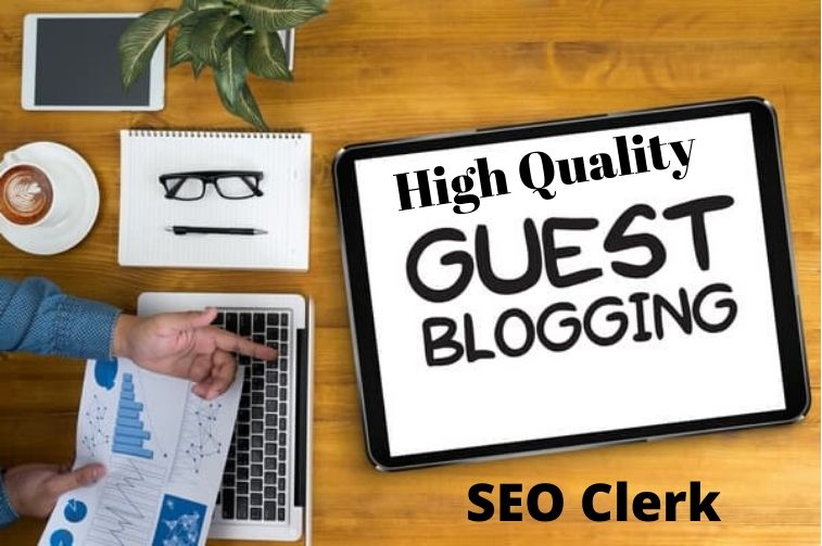 I will give you Stunning high quality guest posts on da 90 plus sites