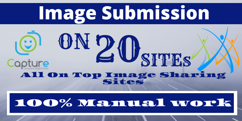I will submit your image or infographic On 20 High PR image submission sites