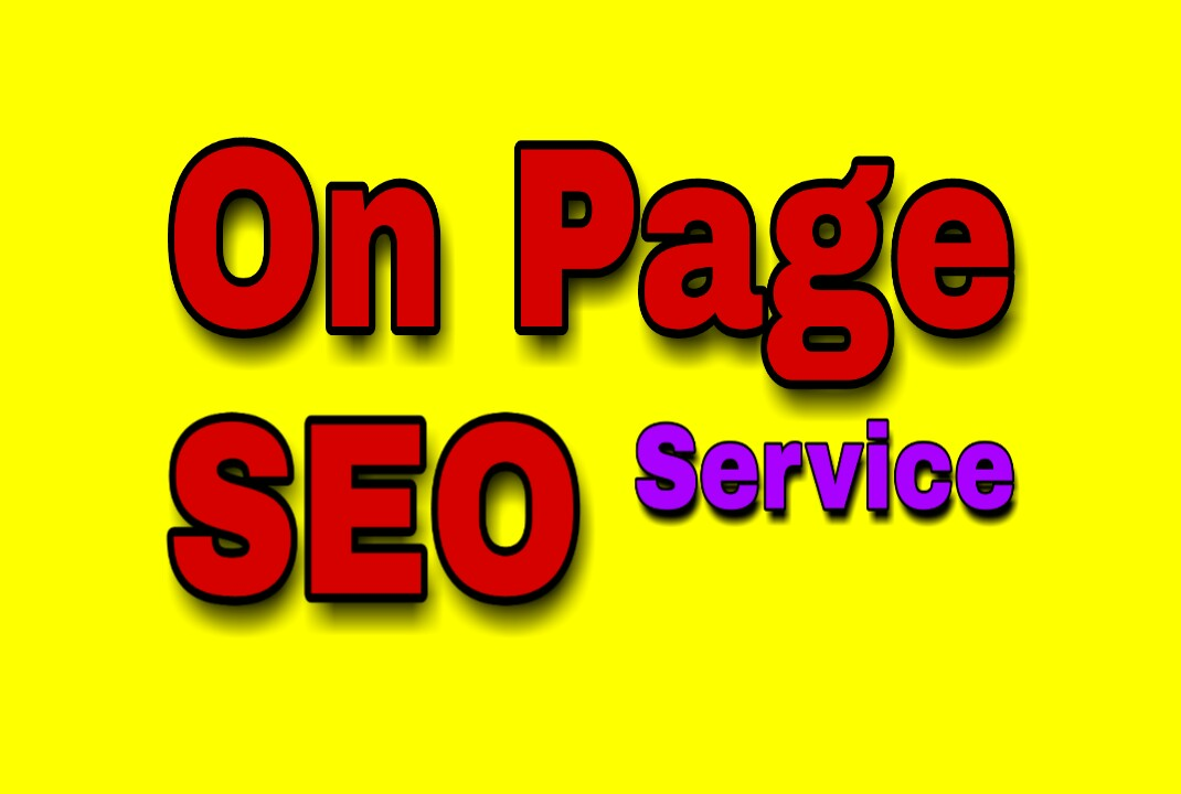 I will do SEO full On-Page optimization for a GOOD RANK