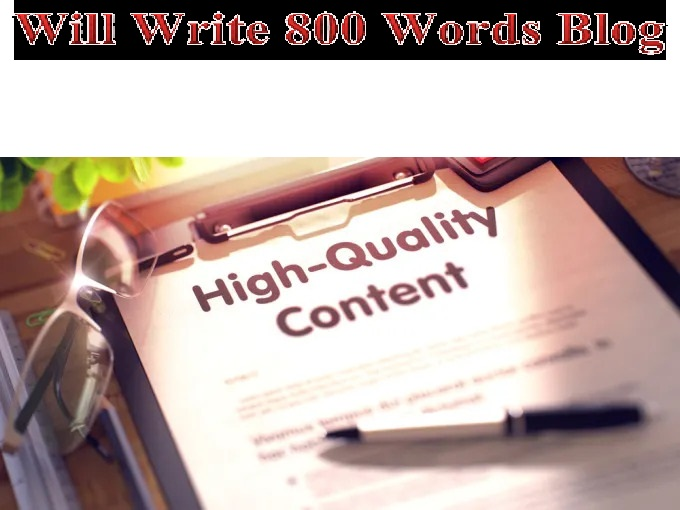 Will Write 800 Words Blog,  Web Content About Game Like PUBG Mobile,  Mobile Legend Or Etc