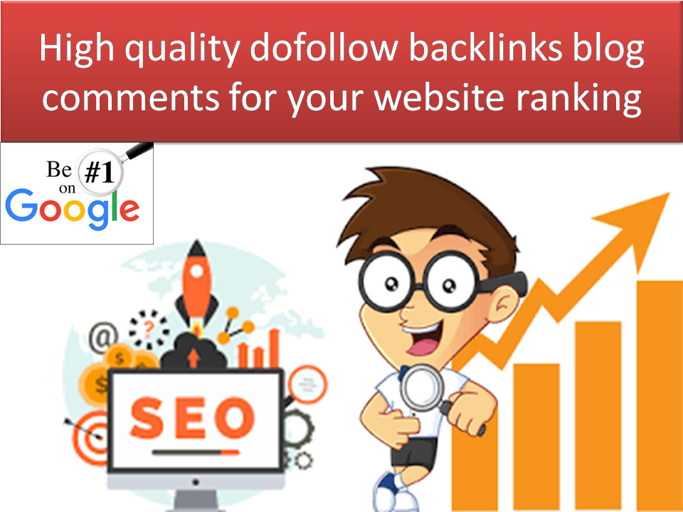 i will submit 120 top quality high authority backlinks blog comments