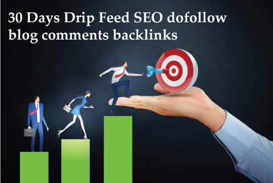 I will submit 30 days drip feed SEO backlinks for a daily update