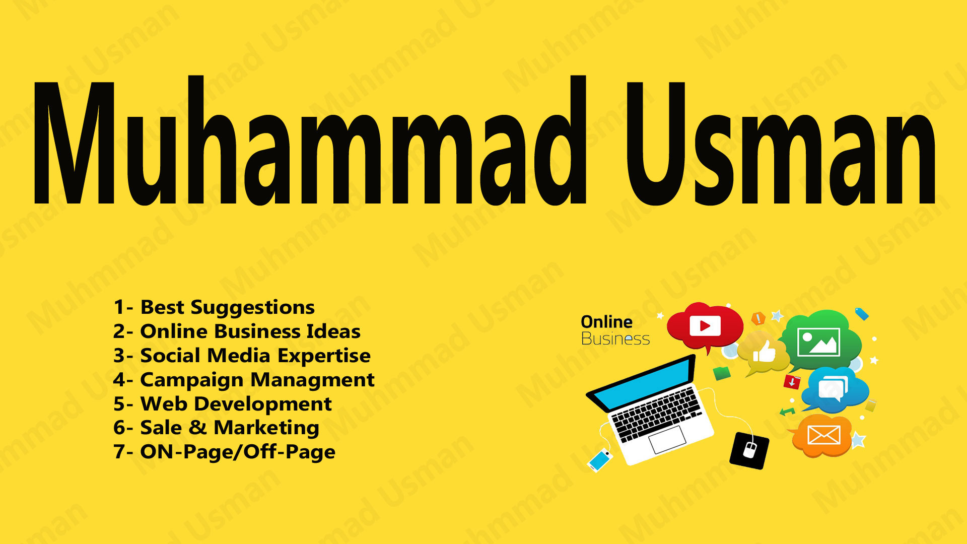 I will make your online businesses profile in cheap rates