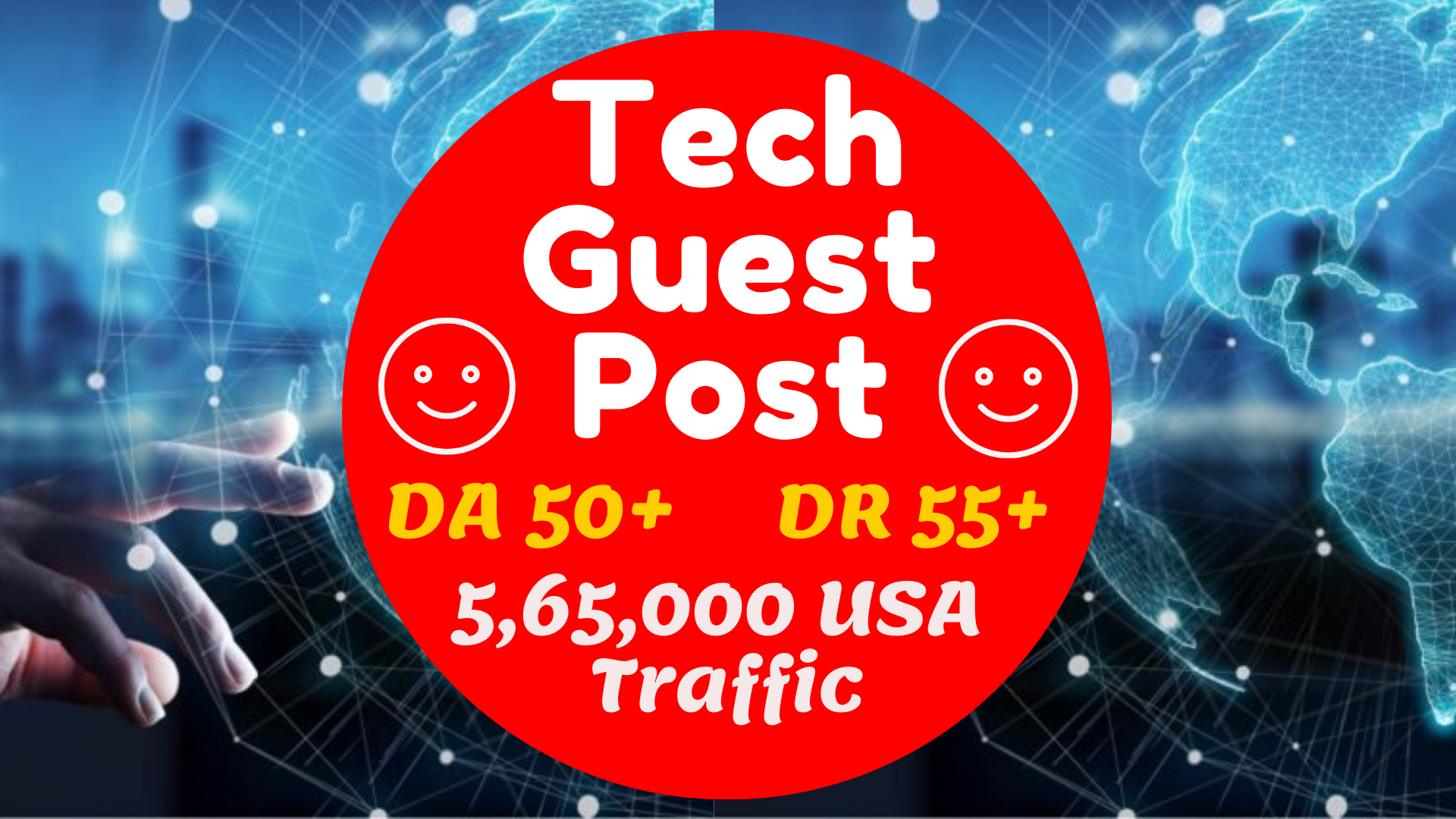 I will do health and tech guest post on da 50 high authority blog