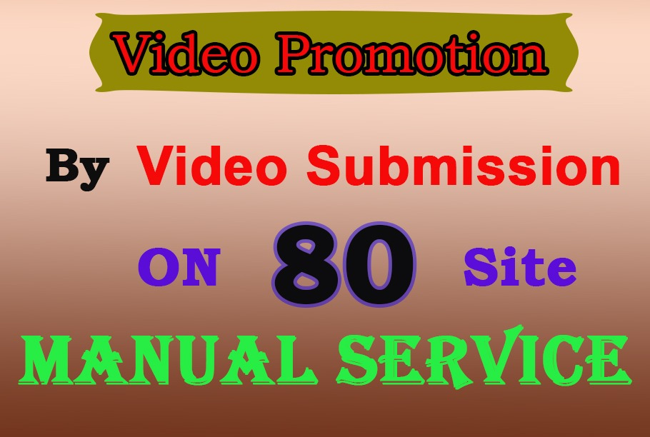 Video submissions on high DA and PA sharing sites