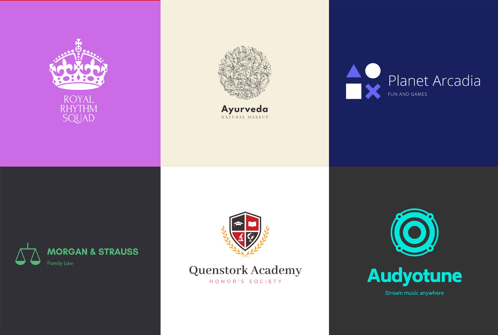 I will design 2 creative unique logos for your brand