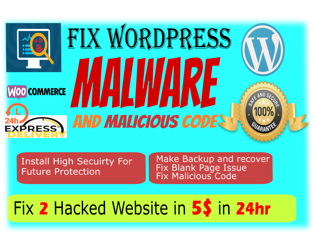 remove wordpress malware and Fix malicious code