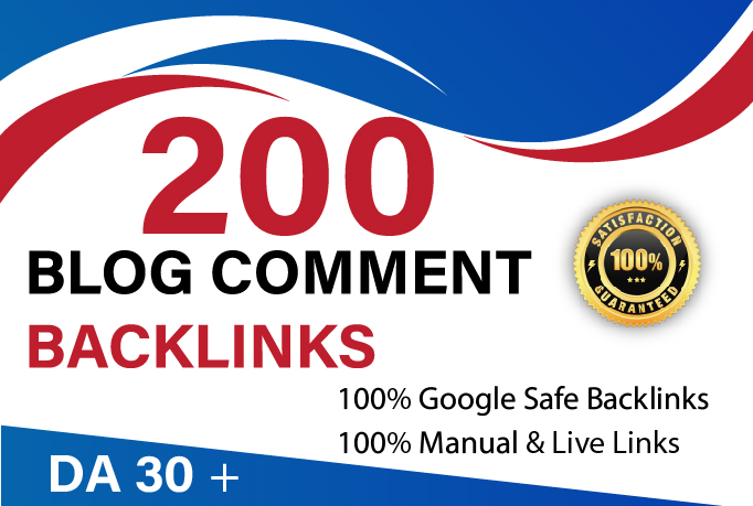I Will Do 200 blog comment seo high Authority link