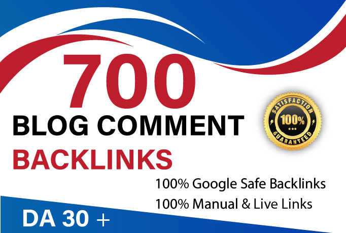 I Will Do 700 blog comment seo high Authority link