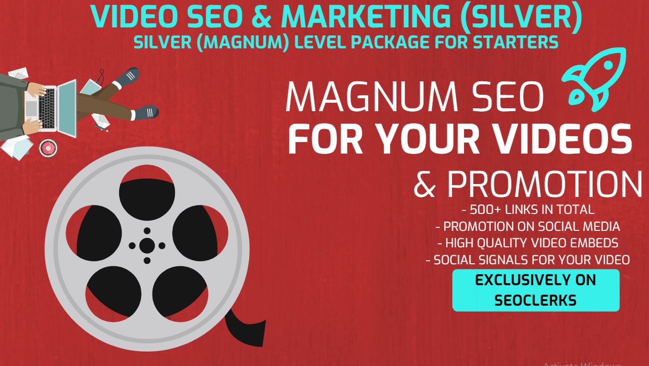 Get 500+ Video Embeds and Social Signal Embed for SEO to your video