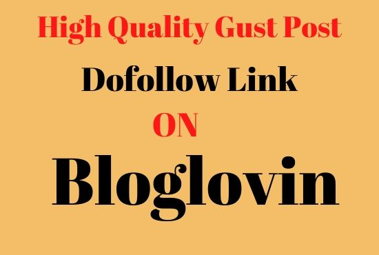 write and publish guest post on high DA93 bloglovin
