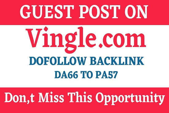 Write and Publish Guest Post On Vingle. com