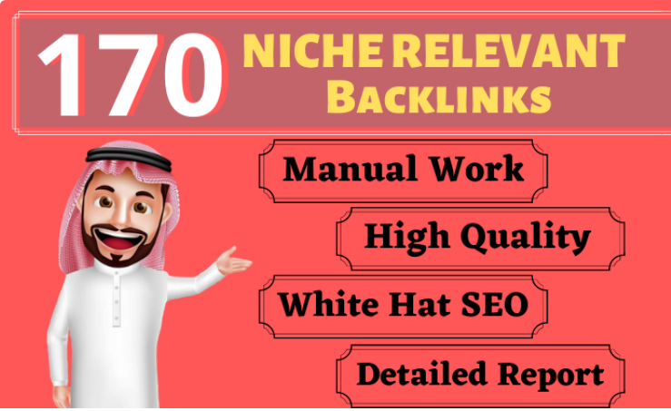 170 Niche Relevant Blog Comment Backlinks High DA PA Real Traffic Only