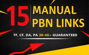 15 Manual PBN Backlinks TF CF DA PA 30-40+ GUARANTEED