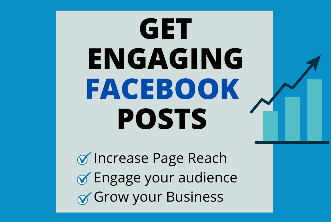 I will create Engaging Facebook Posts for your page/business
