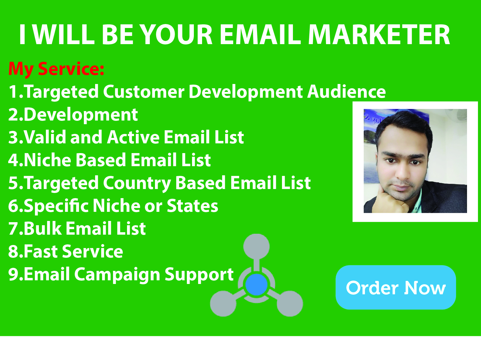 I will be collect your business email list