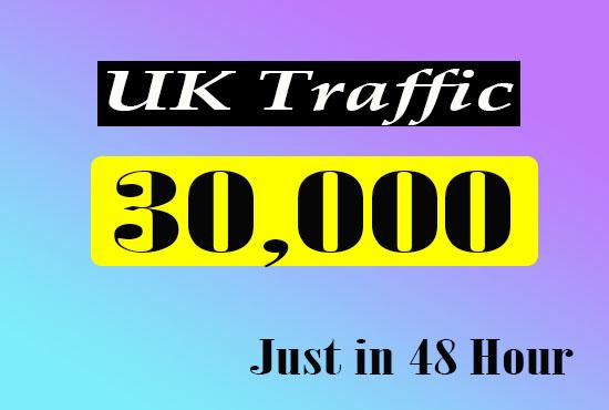 30k UK Website Traffic just in 48 hour