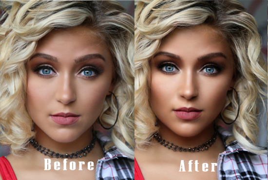 Beauty Photo Retouching & Photoshop Editing