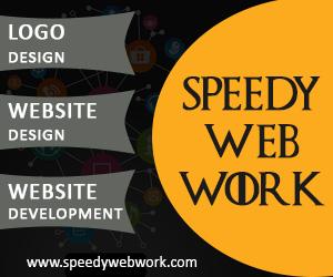 Speedy web work website design and development