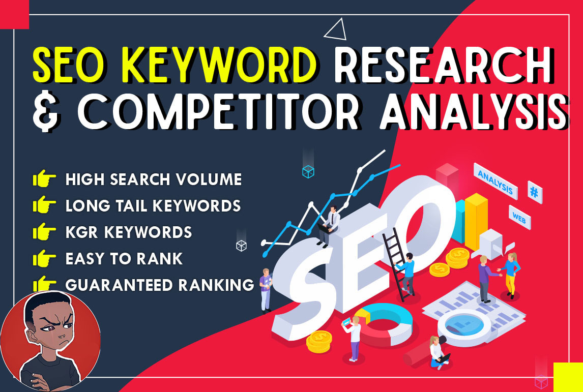 Do Best SEO keyword research and competitor analysis High Quality