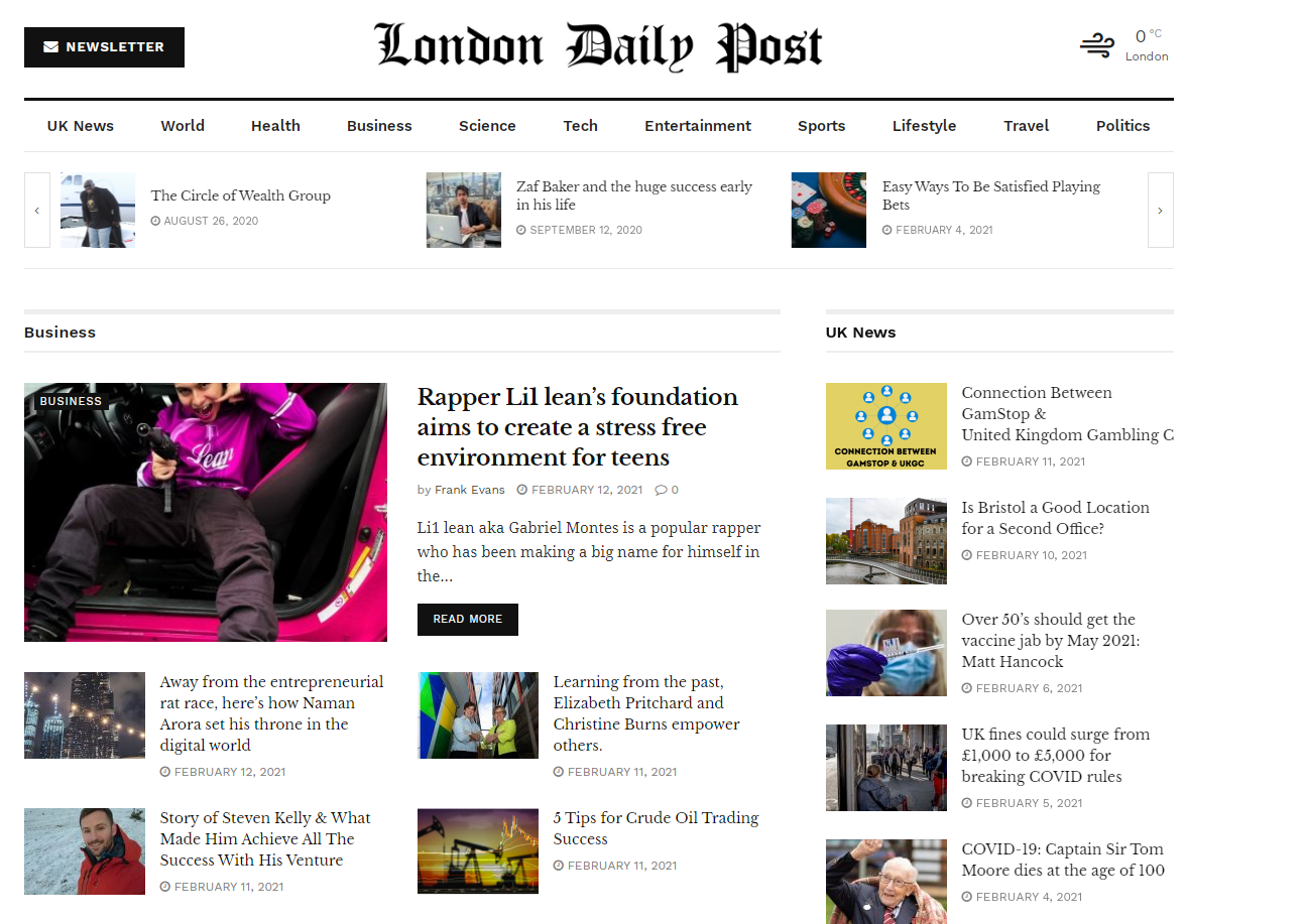 Publish Premium Guest Post On Londondailypost. com google news approved