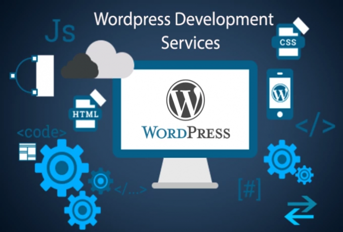 Create WordPress website design and development for your business