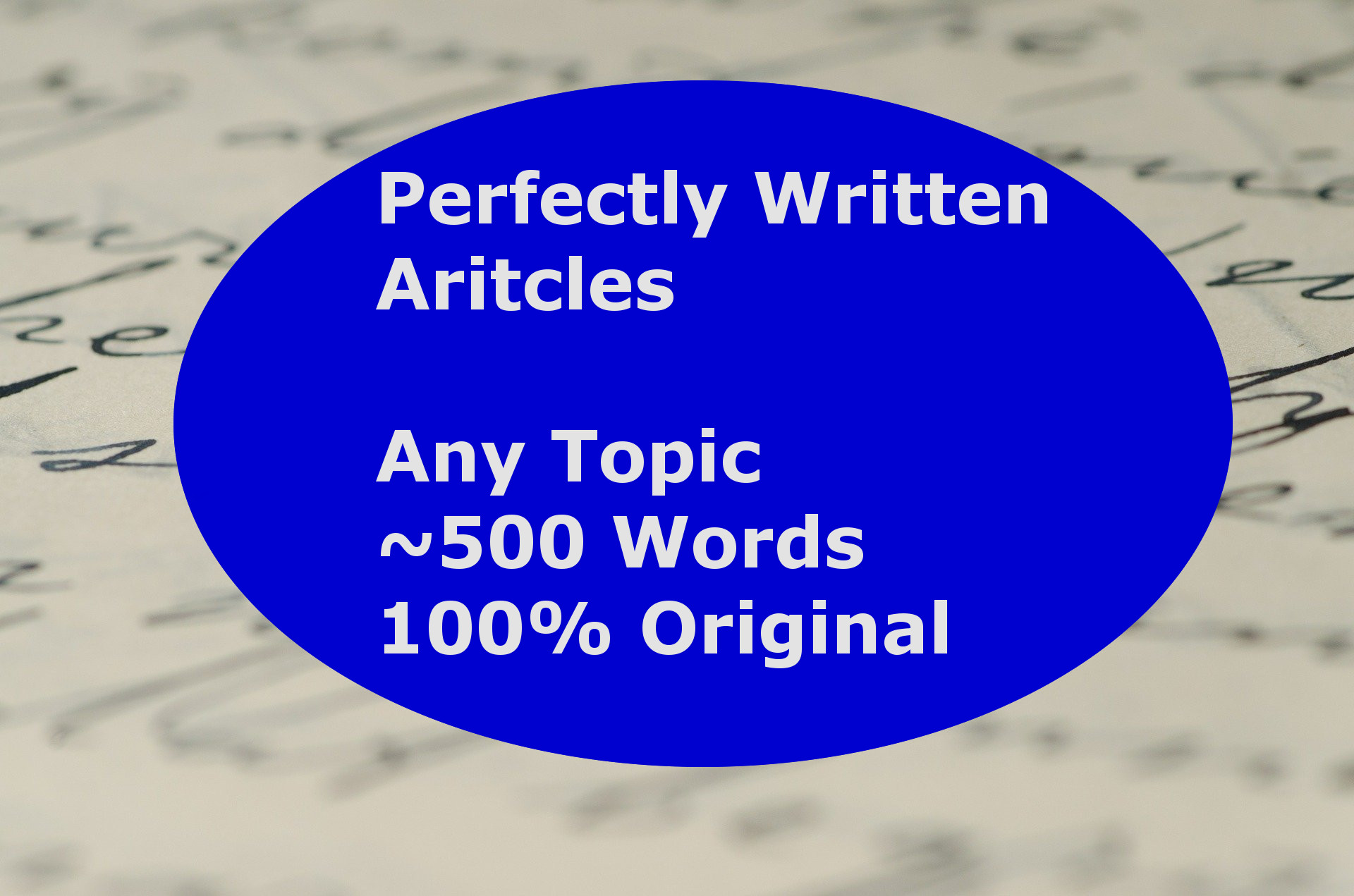 I will provide you with perfectly written,  original articles around 500 words