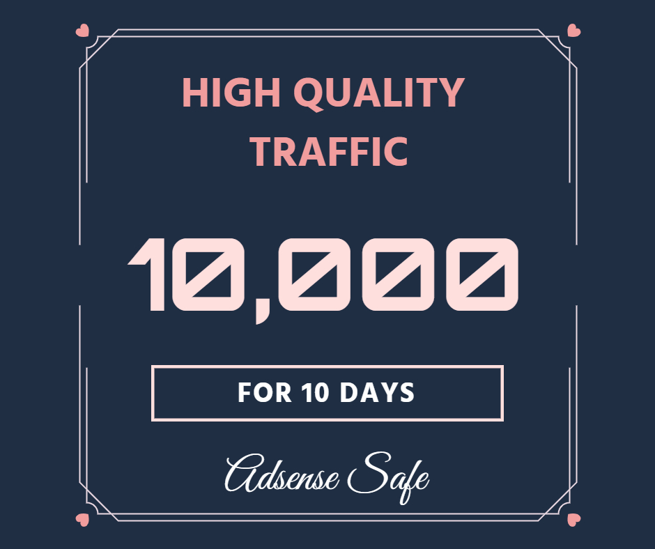 10,000 Website Traffic for 10 Days