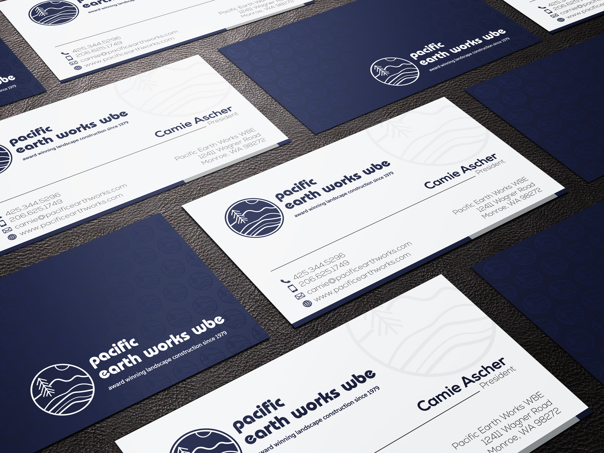 I will design modern unique professional business card designs