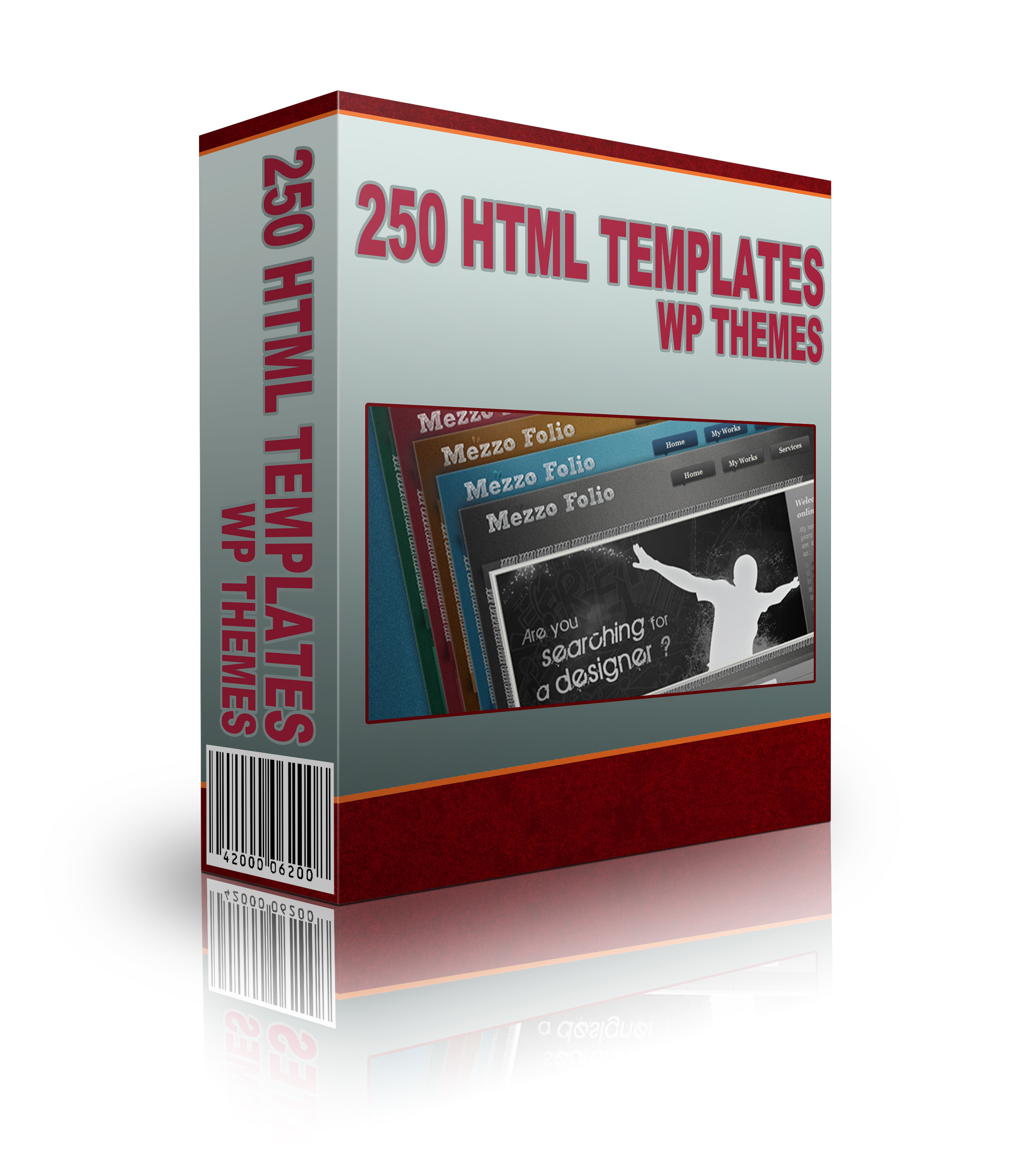 Get 250 HTML Templates WP Themes and Graphics