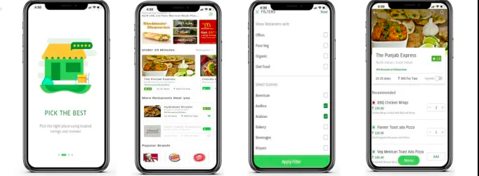 multi restaurant food delivery app like swiggy