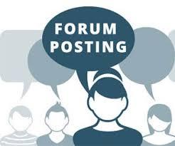 I will provide you 50 forum posting backlinks